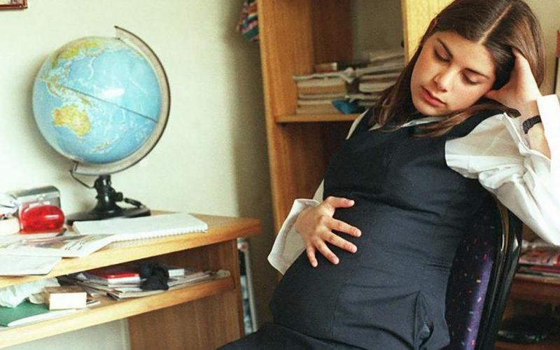 Девочка родила в 12 лет здорового малыша
